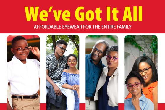 d90d07edd272 We ve Got affordable eyewear for the entire family. With packages starting  from  499.